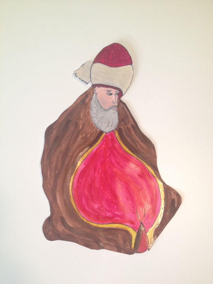 Rumi Watercolor