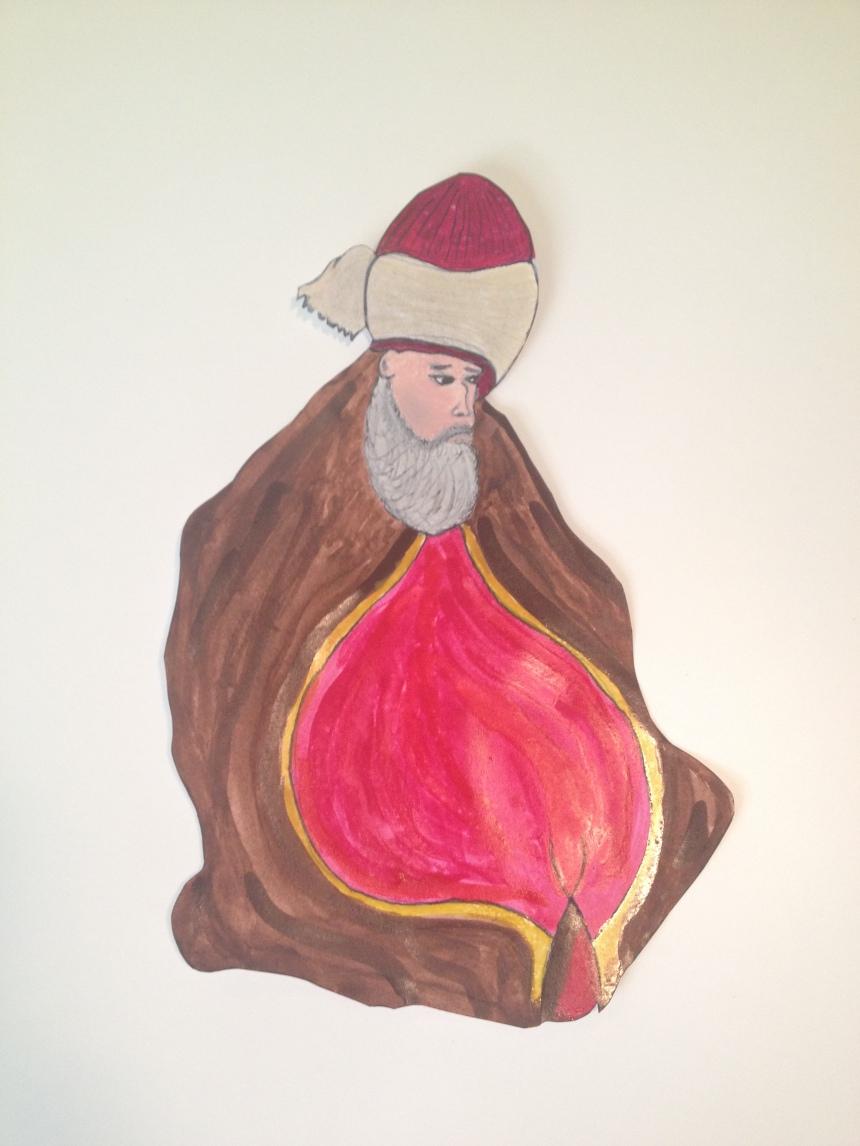 Rumi Watercolor