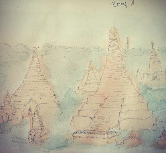 Burma on my mind